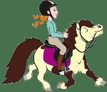 Cavalier et cheval épanouis