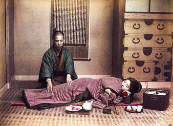Shiatsu japonais traditionnel